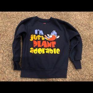 Boys Hanes sweatshirt size small (4T/5T)